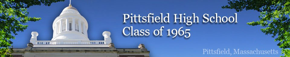 Pittsfield High School, Class of 1965